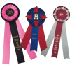 Custom Ribbons and Custom Rosette Award Ribbons
