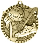 2 Soccer Color Medal Awards