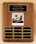 American Walnut Photo Perpetual Plaque Employee Awards