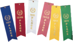 Place with Event Card Flat Ribbons