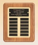 American Walnut Frame Perpetual Plaque Photo Perpetual Plaques