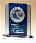 World Time Clock Square Rectangle Awards