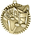 2 Music Wreath Medal Awards